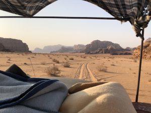 Wadi Rum Woestijn Jeep Uitzicht