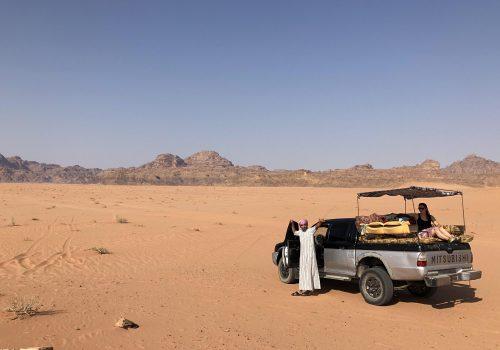 Wadi Rum Woestijn Jeepsafari