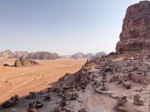 Wadi Rum Woestijn Uitzicht