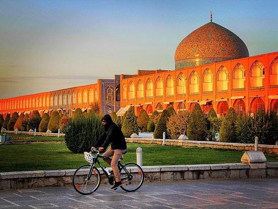 Fietsen in Isfahan