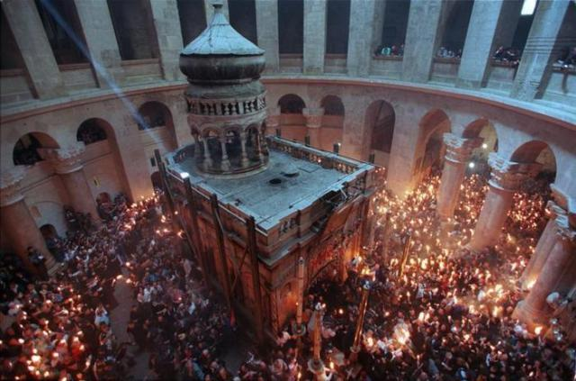 Heilige grafkerk Jeruzalem