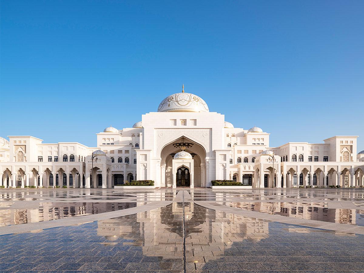 Het Qasr Al Watan in Abu Dhabi
