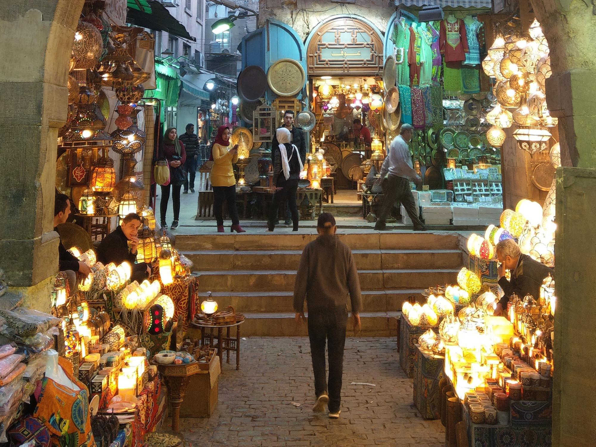 Caïro Khan El Khalili Soek