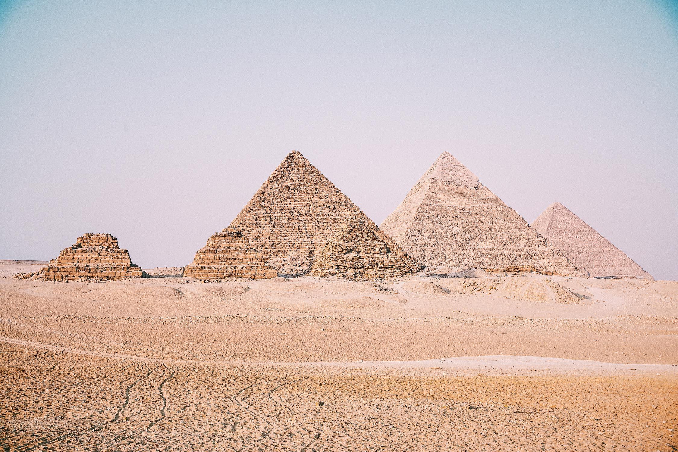 De Piramides Van Gizeh