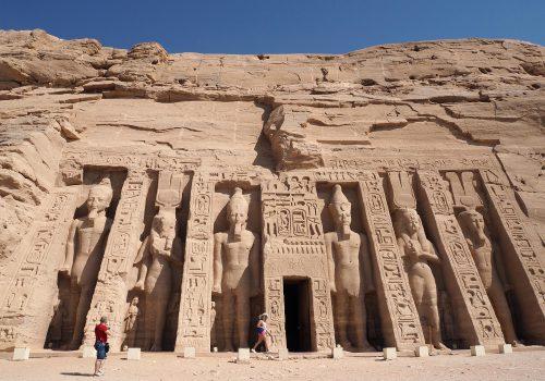Egypte Abu Simbel Tempel