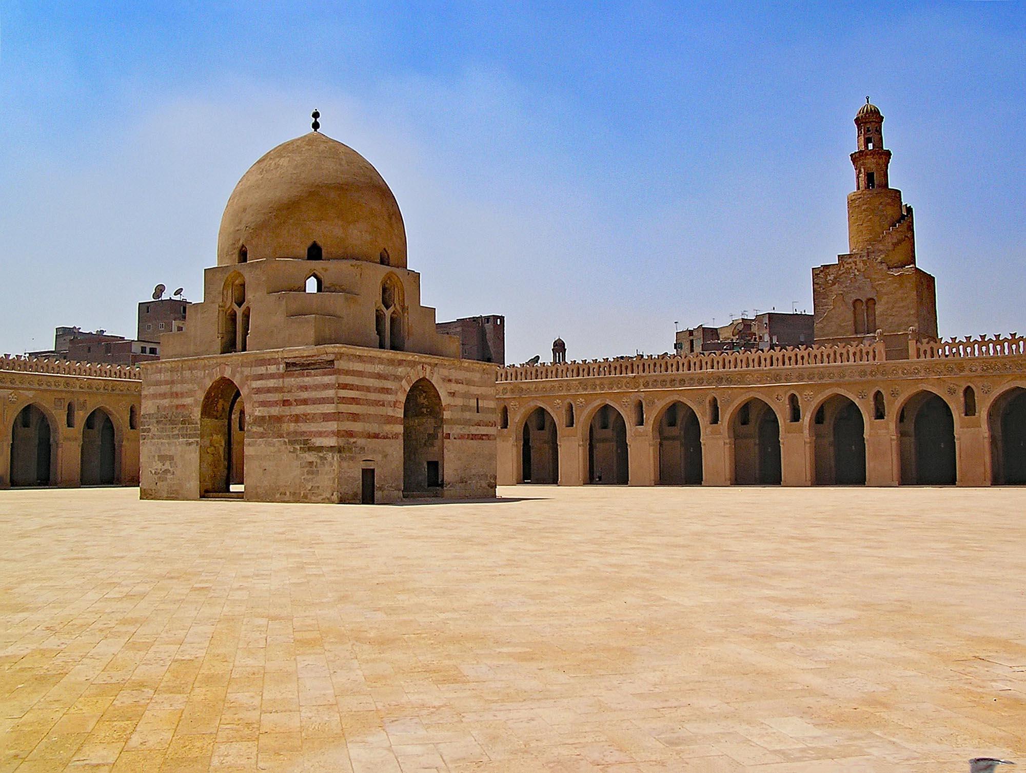 Egypte Caïro Ibn Tulun Moskee