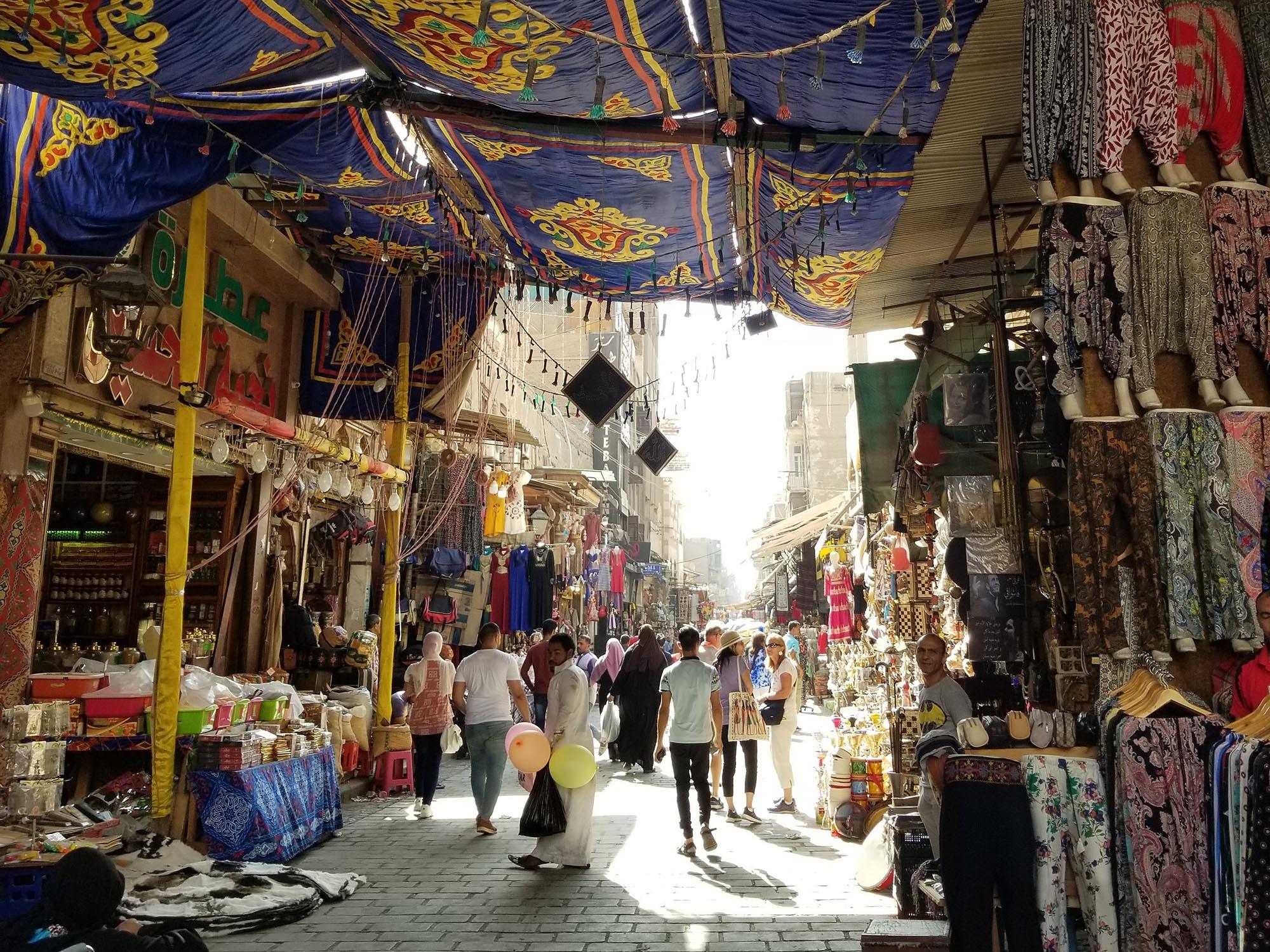 Egypte Caïro Khan El Khalili Soek