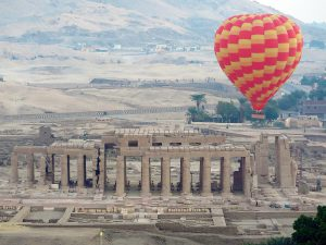 Egypte Luxor Ballonvaart Over Vallei Der Koningen