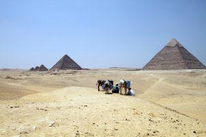 Egypte Piramides Van Gizeh