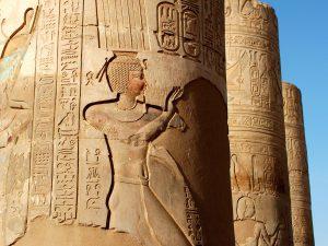 Egypte Tempel Kom Ombo Zuilen