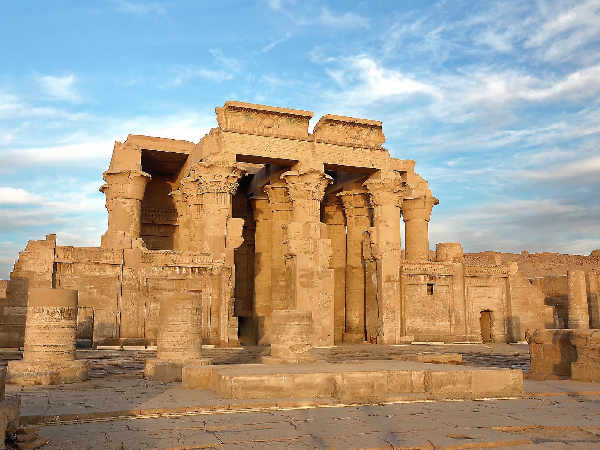 Egypte Tempel Kom Ombo