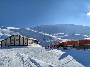 Iran Dizin Skiën Pistes