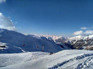Iran Dizin Skiën Uitzicht Bergen