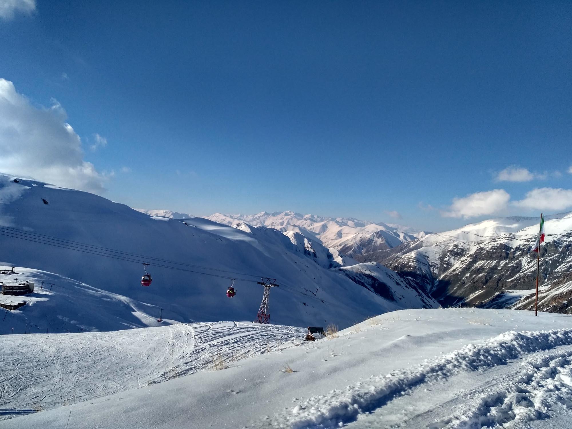 Skiën in Iran