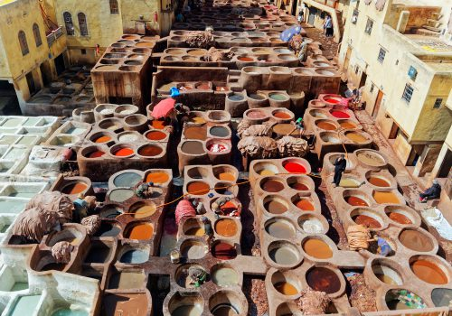 Leerlooierijen In Fez