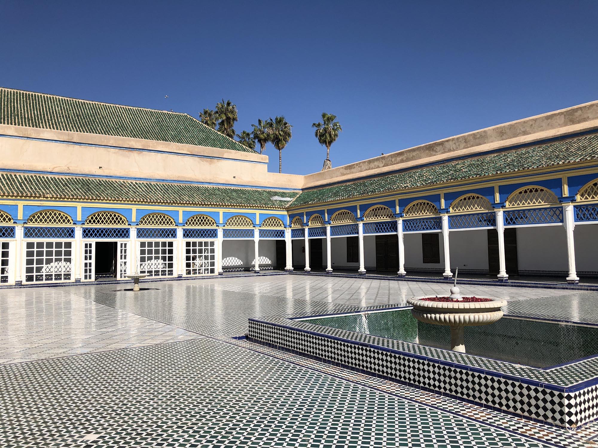 Marrakech Bahiapaleis
