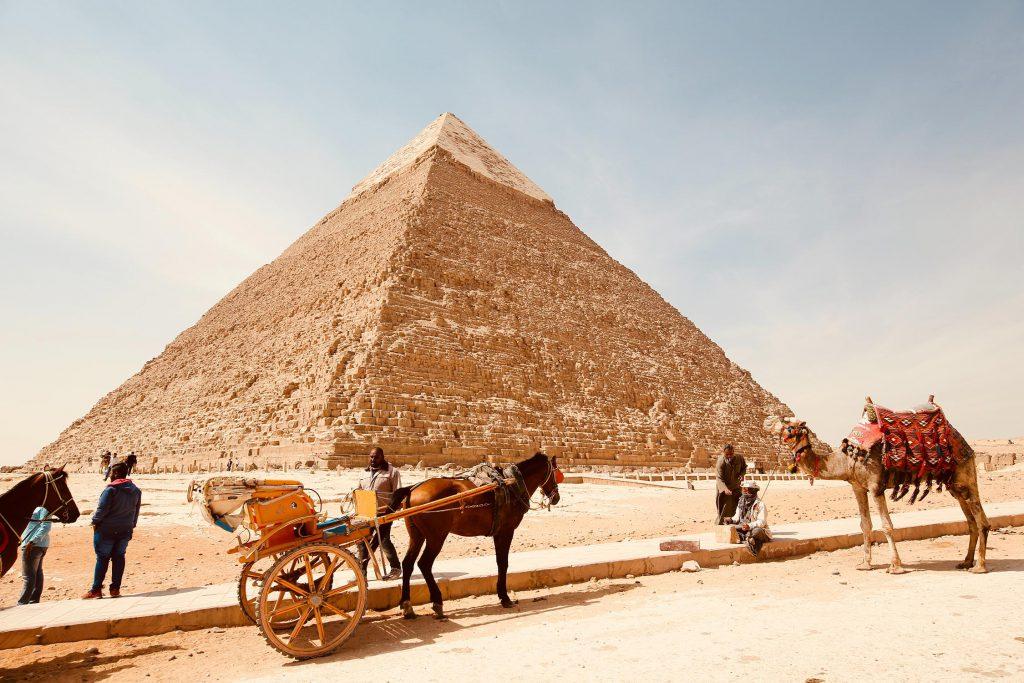 Piramide In Gizeh Egypte
