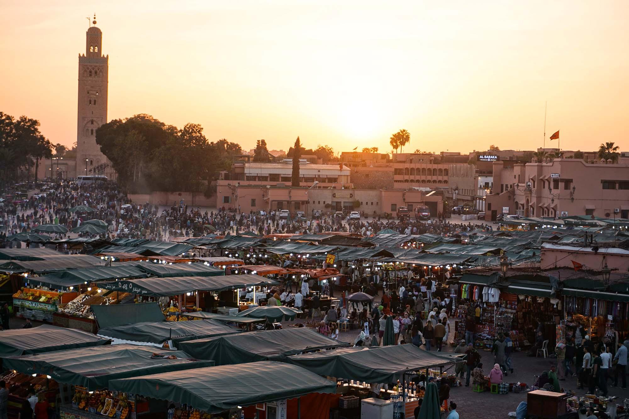 De geschiedenis van het magische Marrakesh