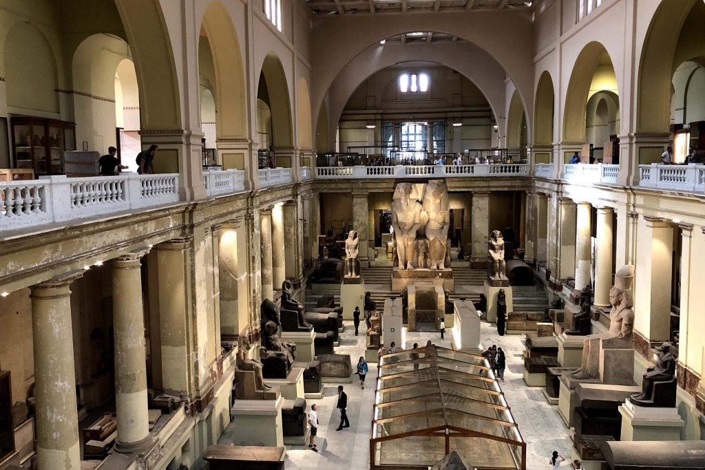 Het huidige Egyptisch Nationaal Museum in Caïro