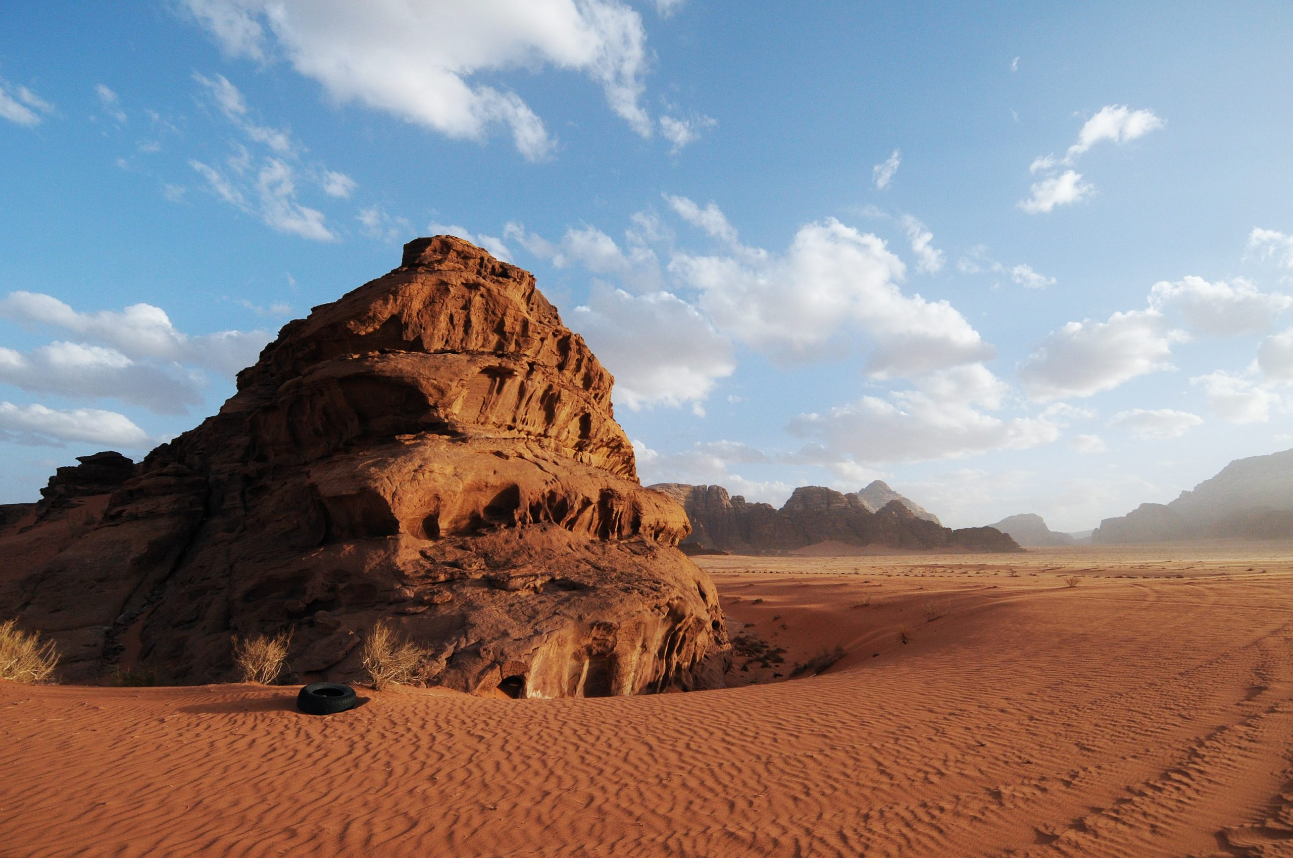 Wildkamperen in de Wadi Rum