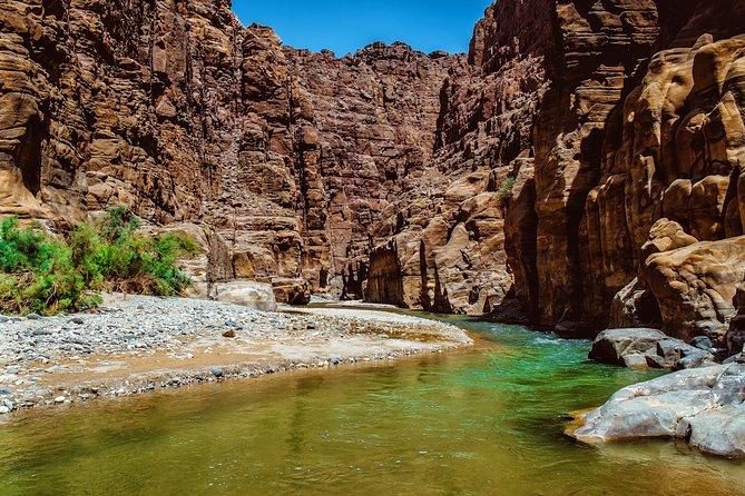 De meest bekende wadi's van Jordanië