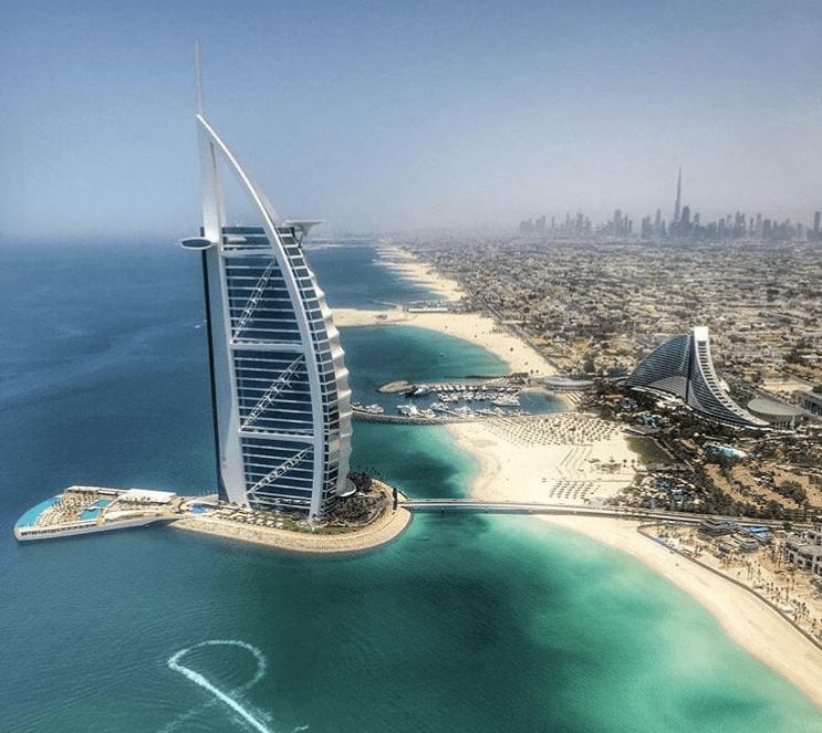 Burj al Arab strand