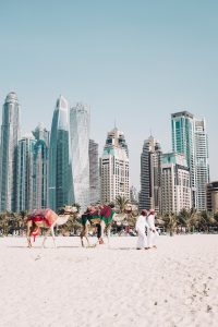 Strand in Dubaia