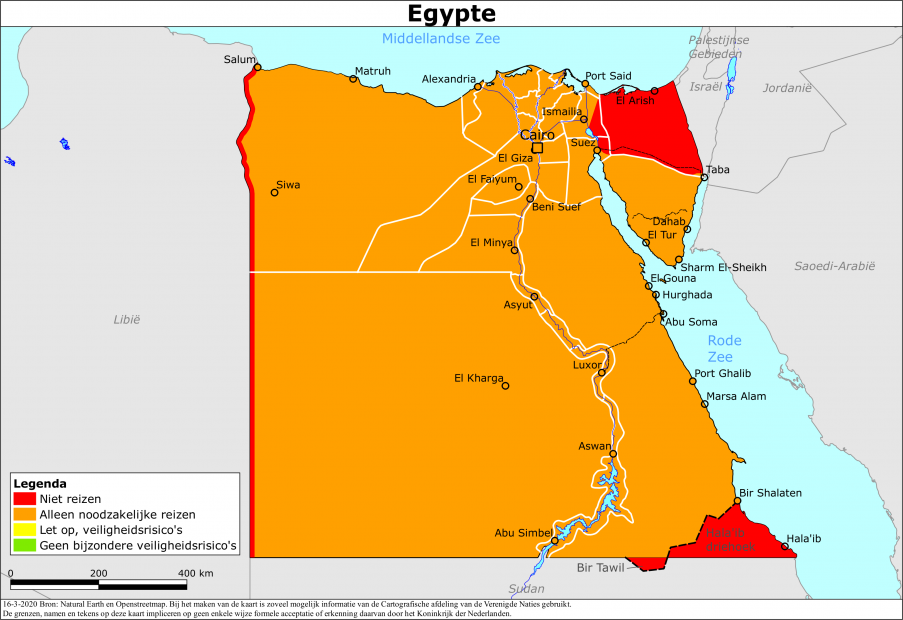 Reisadvies Egypte