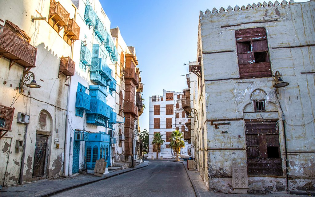 De historische binnenstad Al-Balad