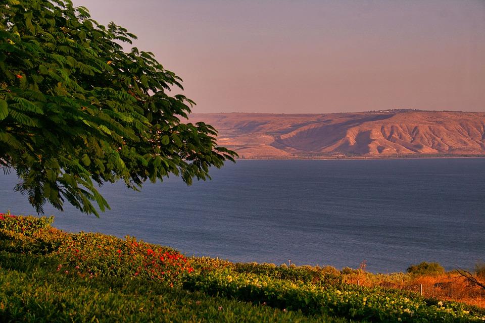 Het meer van Galilea