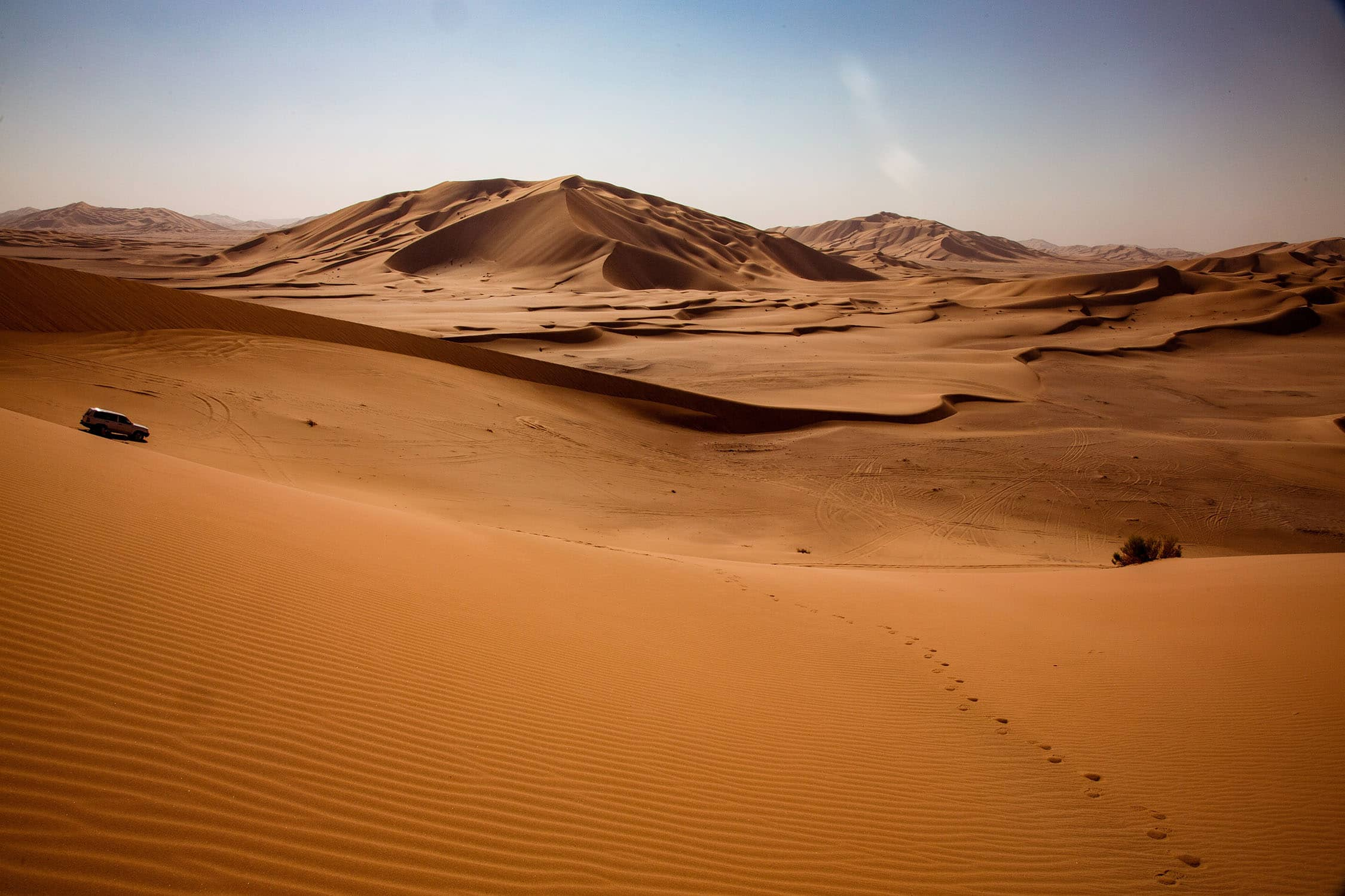 The Empty Quarter in Oman