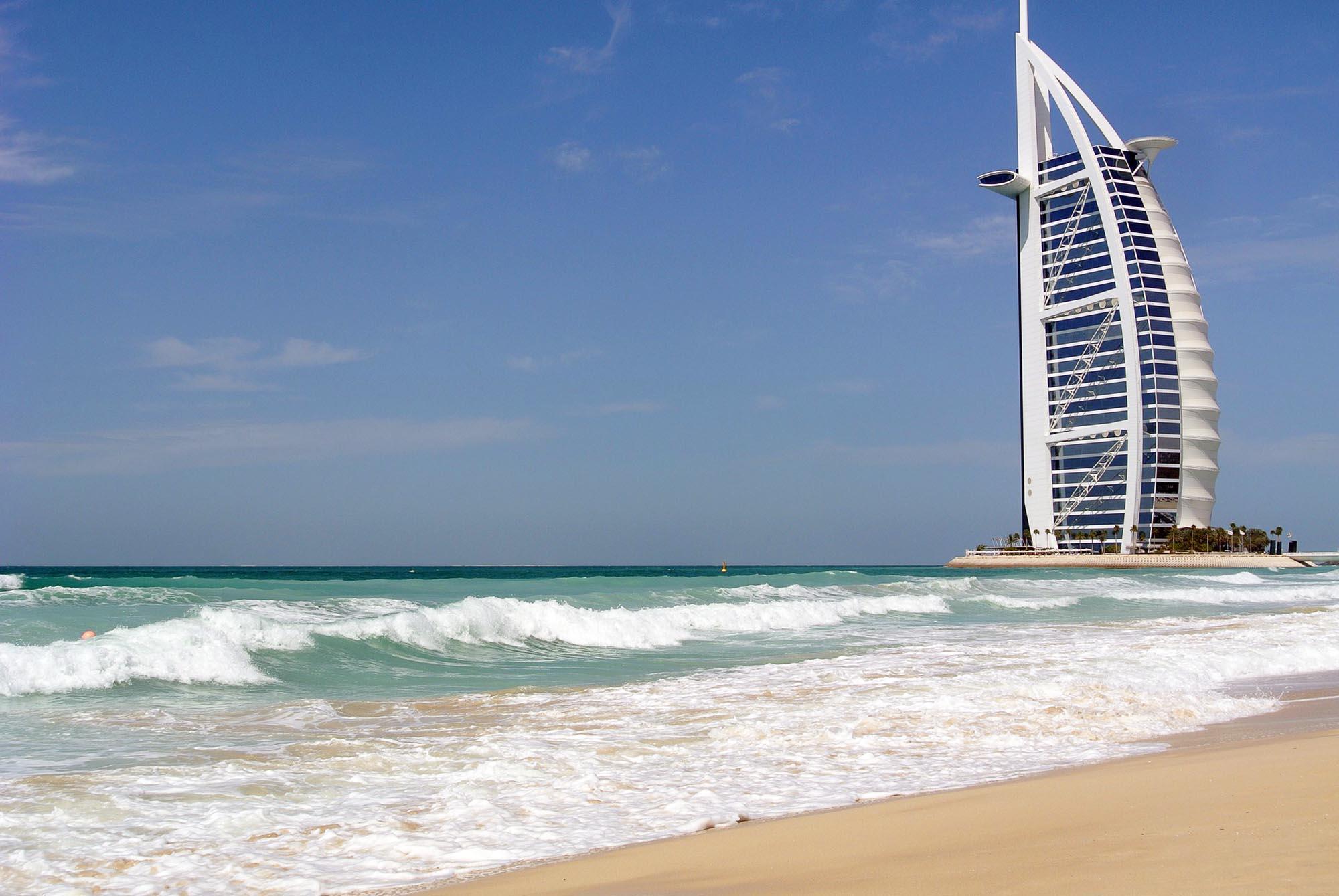 Strandvakanties naar het Midden-Oosten